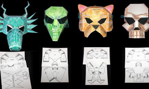 Skull Mask Printout